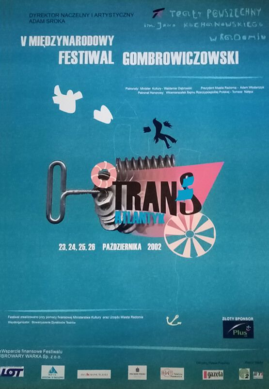 V Międzynarodowy Festiwal Gombrowiczowski